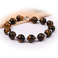 Tiger Eye Bracelet - 10 mm - I