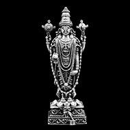 Tirupati Balaji in pure silver