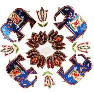 Traditional Rangoli Stickers