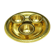 Tray with Offering Bowls