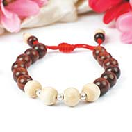 Tulsi and Red Sandalwood Bracelet - II