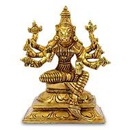Varahi in brass