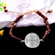 Vashikaran Yantra in Silver Bracelet