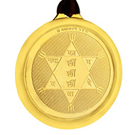 Vashikaran Yantra Locket - Gold Plated