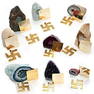 Vastu 9 Planetery Gemstones and Yantra Kit