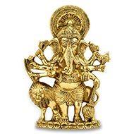 Vastu Ganesh - Kandrishti in Brass