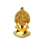 VijayaLaxmi Diya in brass