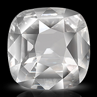White Sapphire - 4.11 carats