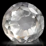White Topaz - 7.50 carats - Round