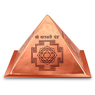 Wisdom Yantra Pyramid in Copper