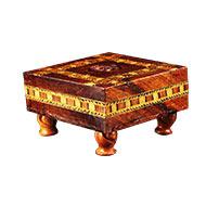 Wooden Deity Seat