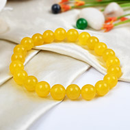 Yellow Agate Bracelet - Design I
