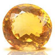 Yellow Citrine - 11.85 carats - Round