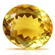 Yellow Citrine - 17.25 carats - Oval