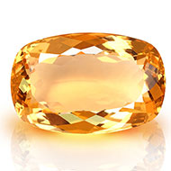 Yellow Citrine - 20.10 carats - Cushion