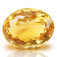 Yellow Citrine - 23.05 carats - Oval