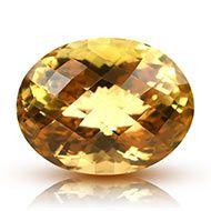 Yellow Citrine - 23 carats - Oval