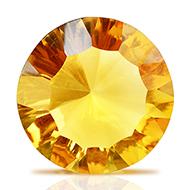 Yellow Citrine Superfine Cutting - 17 carats