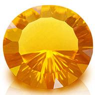Yellow Citrine Superfine Cutting - 9.85 carats - Round