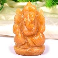 Yellow Jade Ganesha - 154 gms