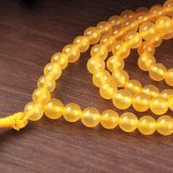 Yellow Jade Mala - 6mm