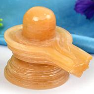 Yellow Jade Shivling - 93 gms