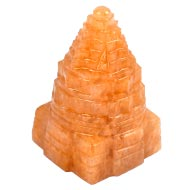 Yellow Jade Shree Yantra - 103 gms - I