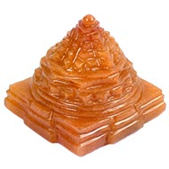 Yellow Jade Shree Yantra - 130 gms