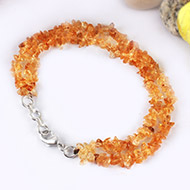 Citrine Double Turn Bracelet